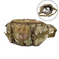 800d tactical waist bag waterproof military molle system multi function waist bag climbing fishing belt pack