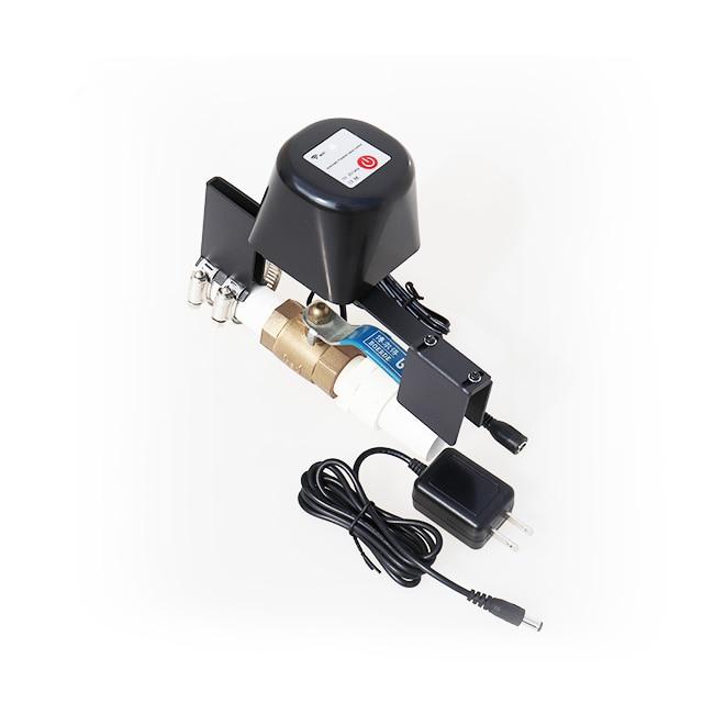 water gas control  main shutoff valve iot home automation Domotique Domotica Tuya wifi Smart valve enlarge