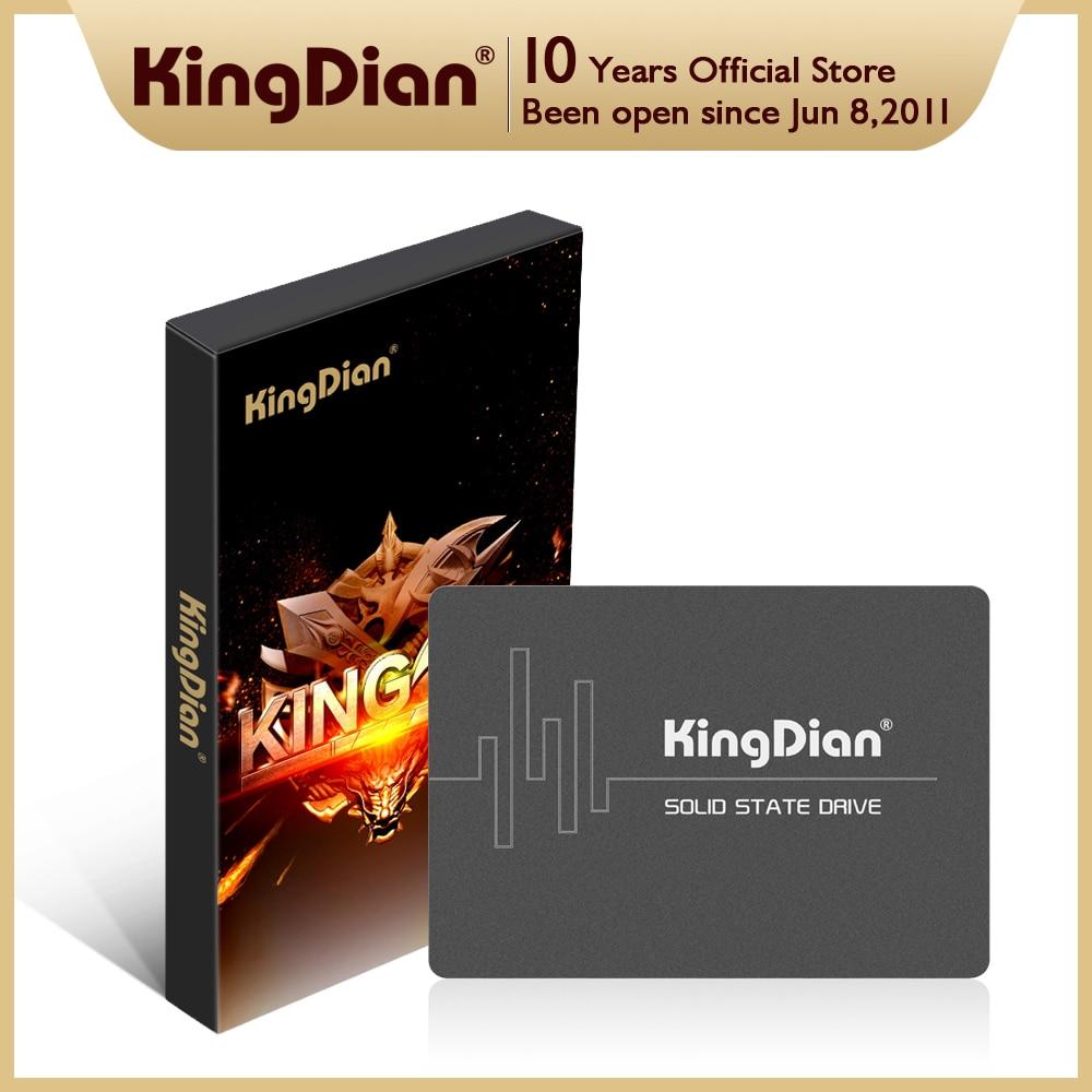KingDian SSD HDD 2.5'' 120GB 240GB 480GB 1TB 2TB SATAIII 128GB 256GB 512GB Internal Solid State Disk