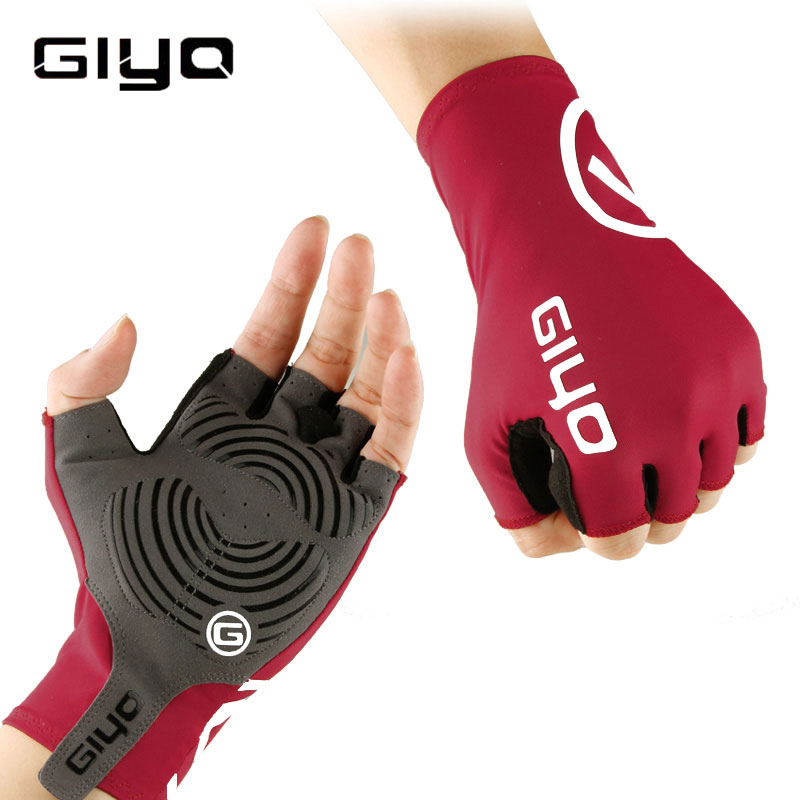Anti Slip Gel Pad Fahrrad Handschuhe Gel Pad Kurze Half Finger Radfahren Handschuhe Atmungsaktive Outdoor-Sport Männer MTB Fahrräder Handschuhe