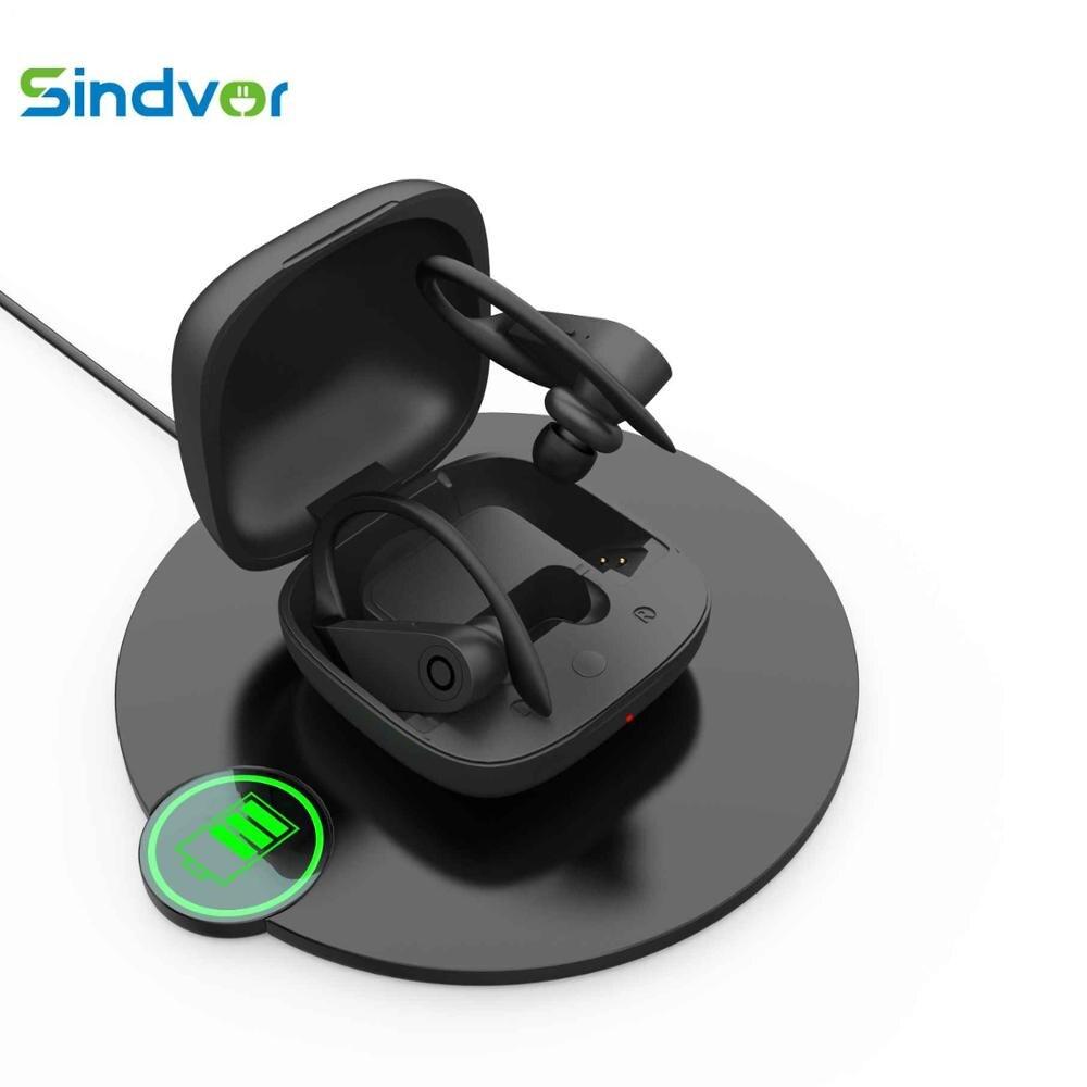 B10 TWS Bluetooth Kopfhörer Wireless Stereo Ohrhörer Ohr haken Headset Sport fone de ouvido Drahtlose Kopfhörer mit Mic PK HBQ q62