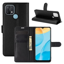 For OPPO A15 Case Flip Cases For OPPO A15 High Quality Leather Stand Cover With Card Holder For OPPO