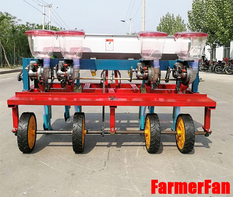 6-row soybean planter, four wheels tractor driven, multifunctional corn and soybean precision planter, sorghum planter enlarge