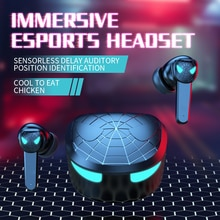 Wireless headset tws bluetooth compatible 5.1 in-ear sports gaming headset waterproof headset with m