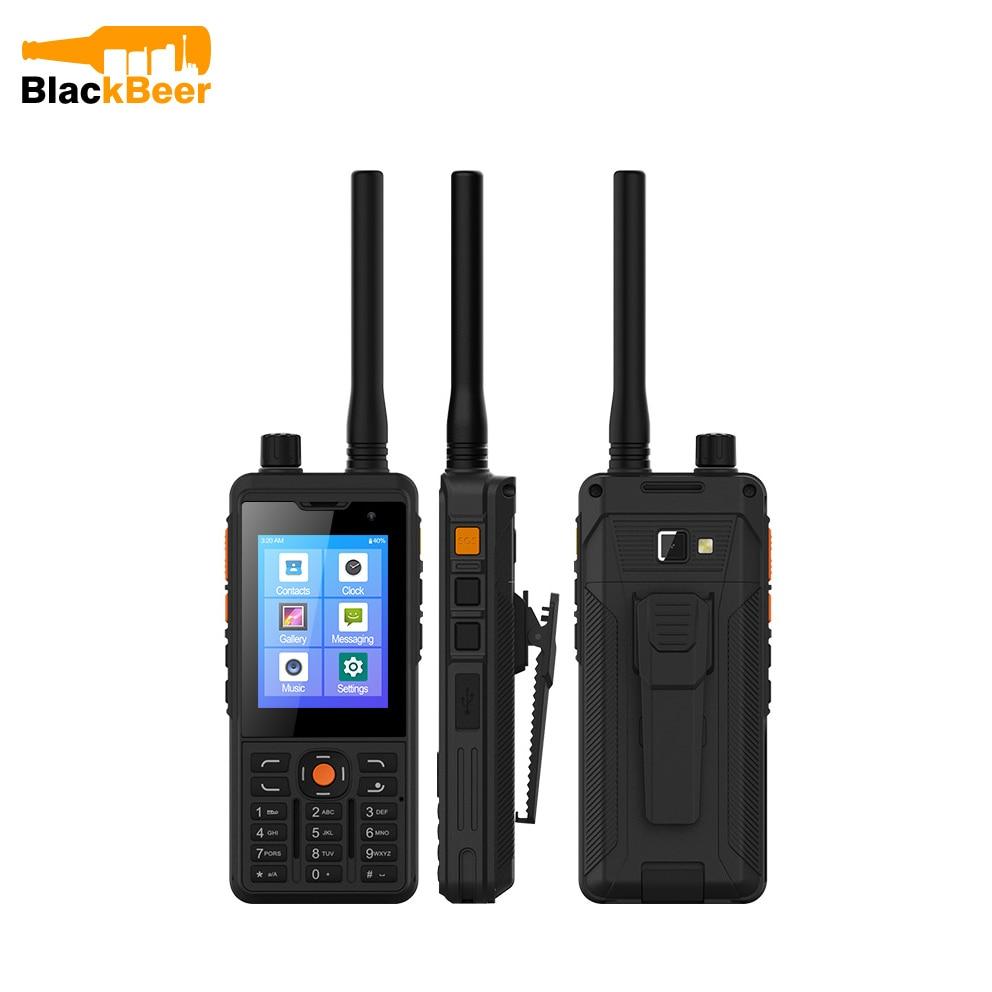UNIWA P5 DMR/Analog Walkie Talkie Mobile Phone Android 9.0 LTE 4G Smartphone UHF 400-480mhz 1GB 8GB Cellphones POC Zello 5300mAh