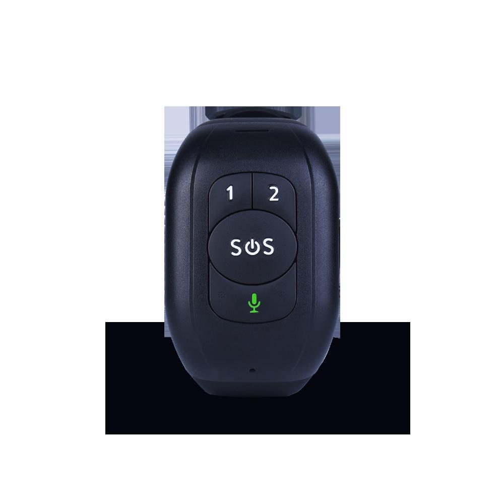 IP67 Waterproof  Elderly SOS Button Wristband Bracelet Emergency Alarm GPS Tracking Heart Rate Blood Pressure Monitor