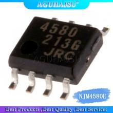 1 pièces/lot NJM4580E patch 8 pieds JRC4580E 4580 SOP8 double puce op-amp nouveau original