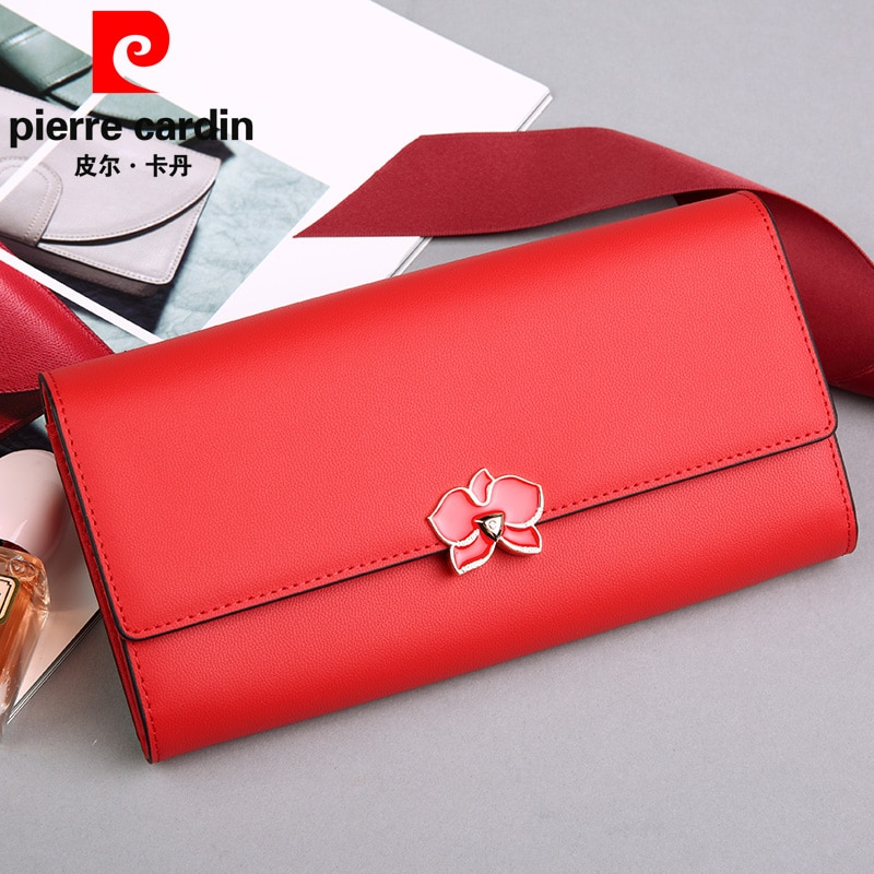 Long Large-Capacity Wallet Cattlehide Leather Korean Style Simple 2021 New luxury wallets for women purse designer