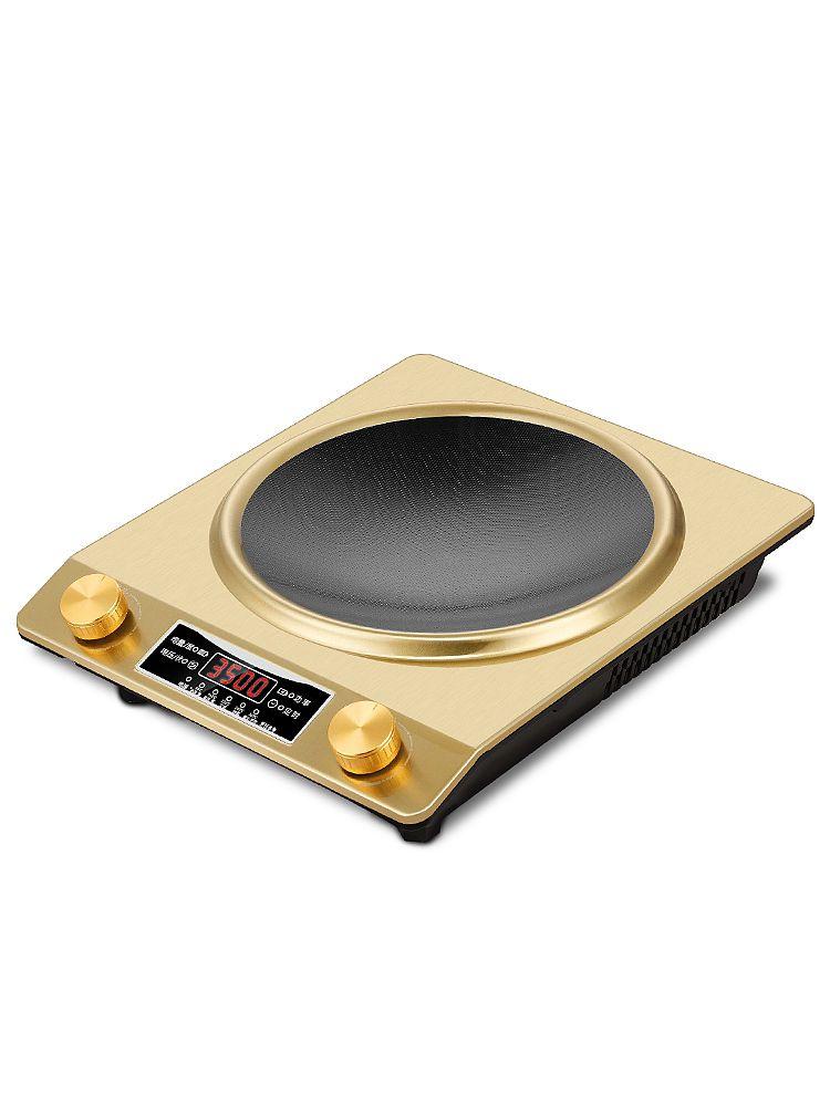 3500W Home kuchenka indukcyjna wodoodporna wysoka moc wklęsła typ magnetyczny Hotpot kuchenka inteligentny elektryczny mini gorący kociołek kuchenka