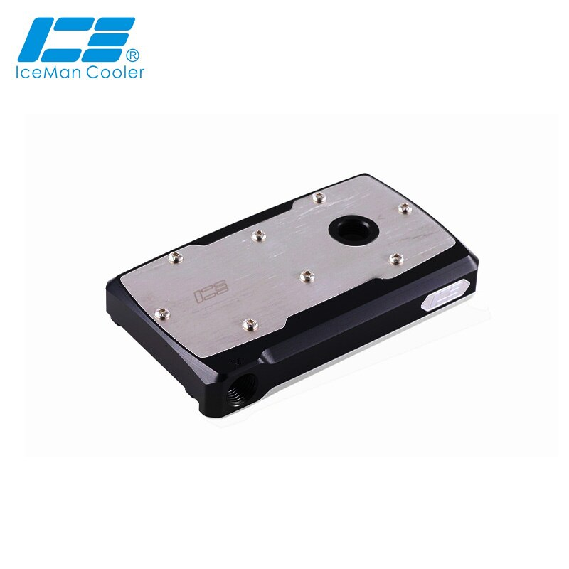 IceManCooler Double DDC Pump Upgrade Mod Cap ,Dual DDC Refit Black Cover ,High Quality