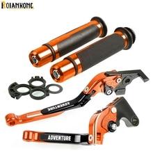 Motorcycle brake handle bar adjustable brake clutch lever For KTM 640 650 950 990 1290 1190 1090 990 Adventure 2006 2007 2008