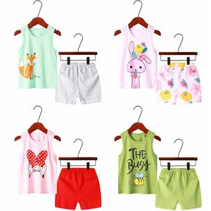 Kids Clothes T-Shirt Toddler Boys Cartoon Outfits Baby Girls Boys clothing Set Summer Clothes Children Clothing T-shirt+Shorts