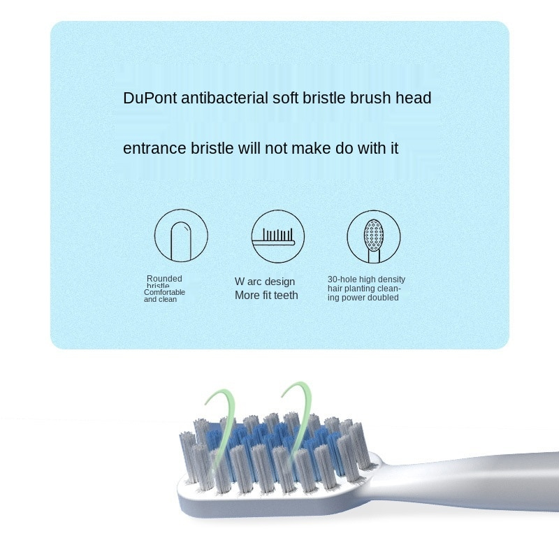 Ultrasonic intelligent electric toothbrush adult soft hair charging automatic toothbrush enlarge