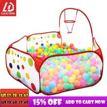 Piscine à balles océan bébé parc enfants jouet tente fosse à balles avec panier jouets dextérieur pour enfants Ballenbak