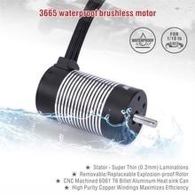 Surpass Hobby ROCKET 3665 Waterproof Brushless Motor 2100KV 2600KV 3100KV RC Car Motor for 1/8 1/10