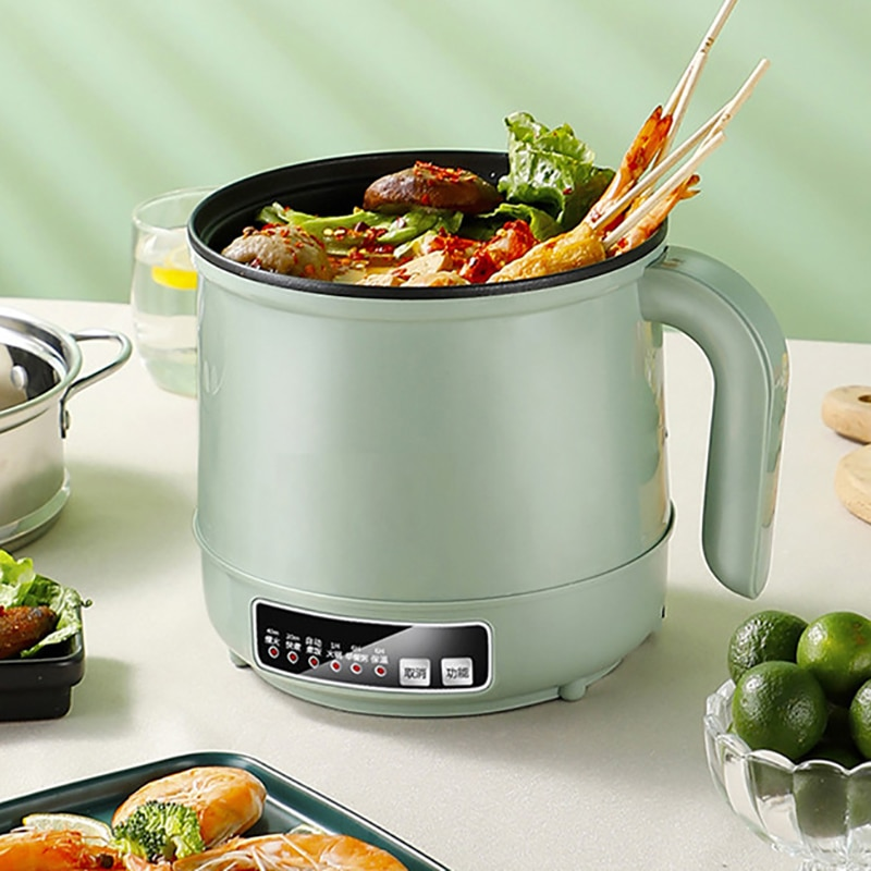 Máquina de cocina electrica multifuncion olla vino caliente de unadoble capa Mini...