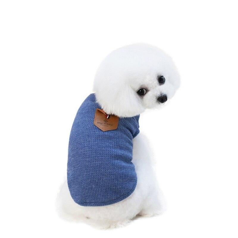 T-shirt Chihuahua   Sweat-Shirt de poche pour vêtements, gilet en coton, vêtements de chiens solides, petits animaux dété, TY de printemps