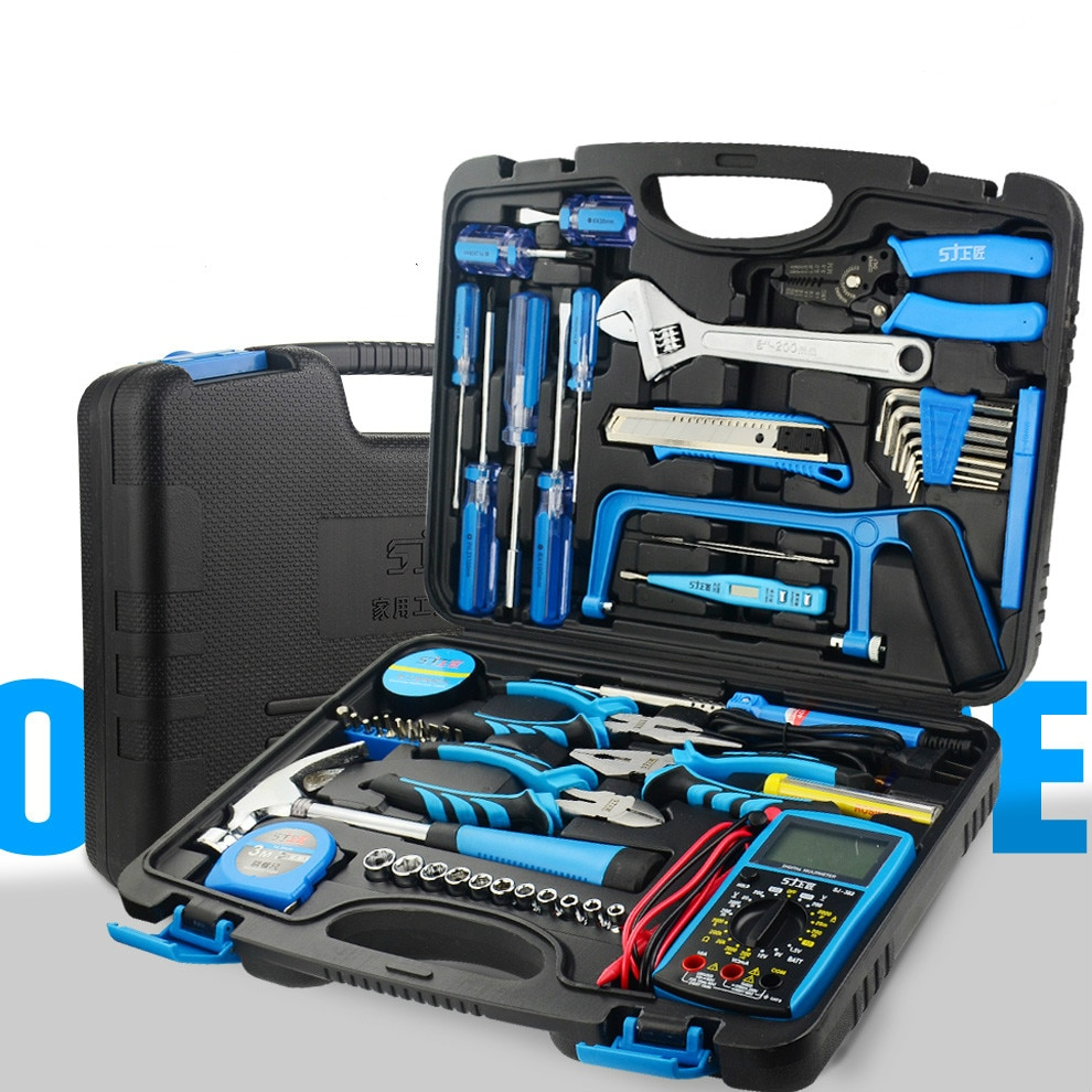 Professional Multifunction Tool Box Hard Case Organizer Safety Waterproof Storage Tool Box Caisse A Outil Tools Packaging DB60GJ