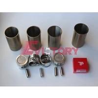 for nissan sd25 rebuild kit oil water pump piston liner gasket bearing