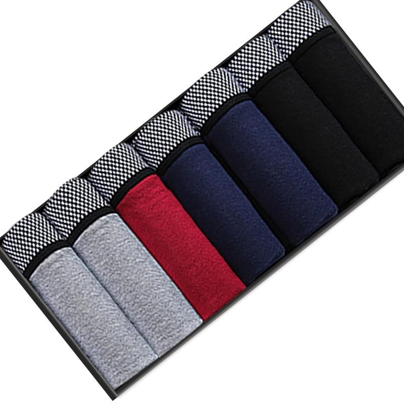 7pcs/lot Mens Boxers Underwear Cotton Boxer Underpants Homme Boxershorts Calzoncillos Hombre Jockstrap Panties for Man U Convex