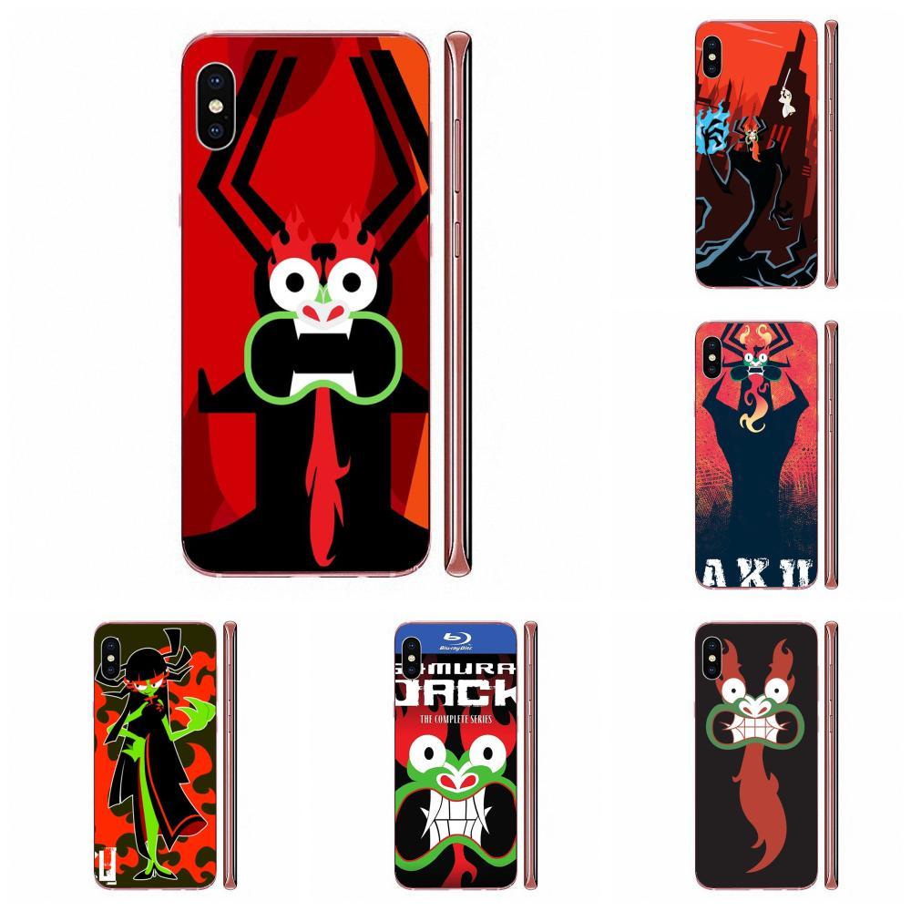 Мягкий ТПУ телефон мультфильм самурайский Джек АКУ постер для Xiaomi CC9 CC9E Mi 3 4 4i 5 5S 6 6X 8 9 SE Play Plus Pro Lite A1 Mix 2 Note 3
