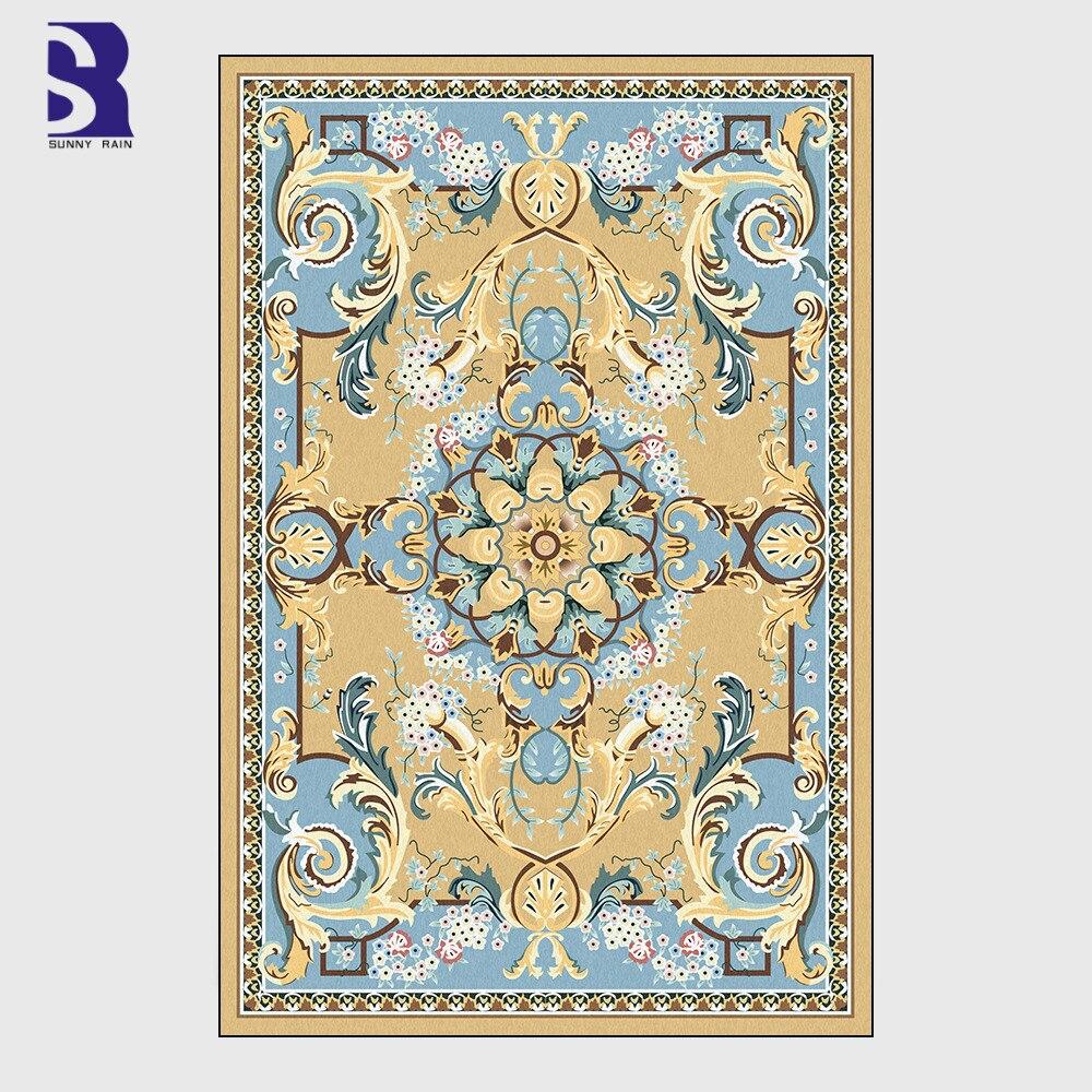 SunnyRain 1-قطعة المطبوعة الصوف سجاد سجاد و السجاد للمنزل غرفة المعيشة غرفة نوم كبيرة