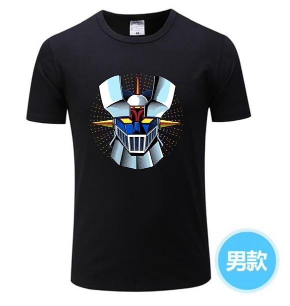2020 Mazinger Z футболки мужские Аниме Старый Классический Манга робот фильм футболка черные базовые футболки мужская футболка для мальчиков футболки XS-XXXL