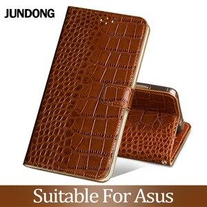 For Asus Zenfone 3 4 5 5Z 5 Lite Max M2 ZB633KL ZB634KL Case Cowhide Luxury Card slot wallet phone flip cover