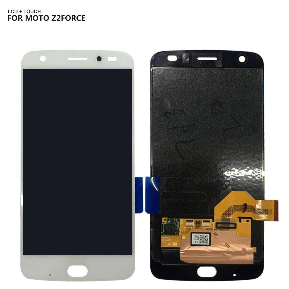 For Motorola Moto Z2 Force XT1789 XT1789-01 XT1789-04 LCD Display Touch Screen Digitizer Ful Set Assembly