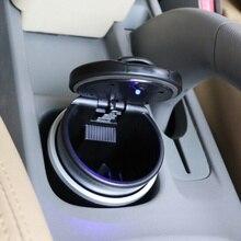 Draagbare Auto LED Sigaret Rook auto Asbak Opslag Cup voor Lada Priora Sedan sport Kalina Granta Vesta X- ray XRay