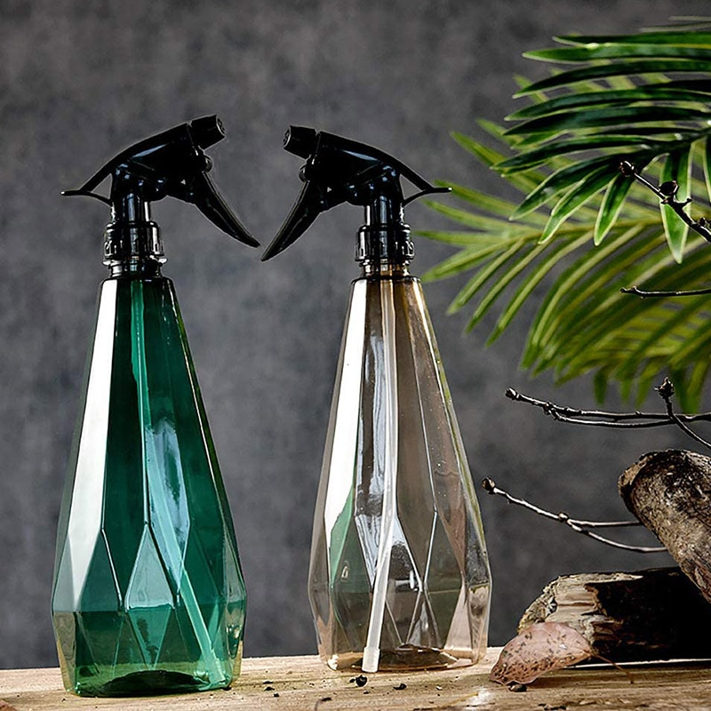 AliExpress - Plant Mister Plastic Spray Bottle With Adjustable Nozzle Small Pressure Watering Can For Plants And Cleaning Work Hot Selling