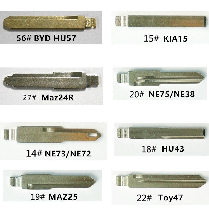 Wilongda hoja KD remoto hoja sin cortar en blanco Toy47 HU57 Maz24R NE72 MAZ25 KIA15 NE38 HU43