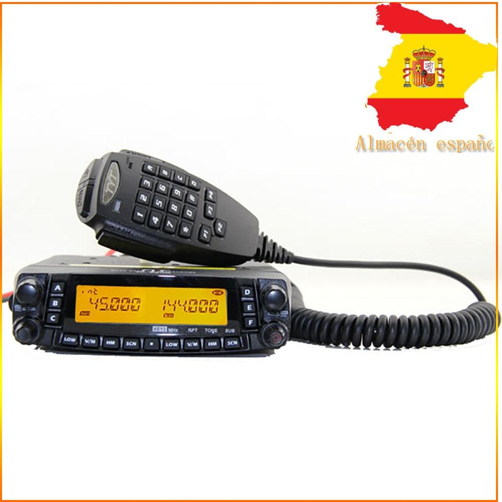 TYT TH-9800 50 Вт двойной дисплей ретранслятор скремблер, СВЧ/УВЧ-трансивер, автомагнитола, двухстороннее радио