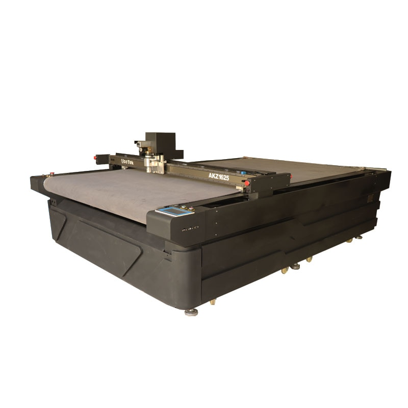 CNC Oscillating Knife Rubber PTFE Gasket Composite Pneumatic Cut Cutting Machine With Auto Feeding Table