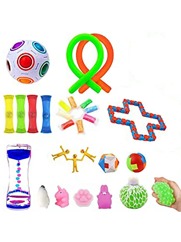 Fidget Toys Set Popit Toy Ball For Autism ADHD Anxiety Stress Relief Squeeze Toys Pop Bubble Fidget Sensory Toy For Kids Adults enlarge
