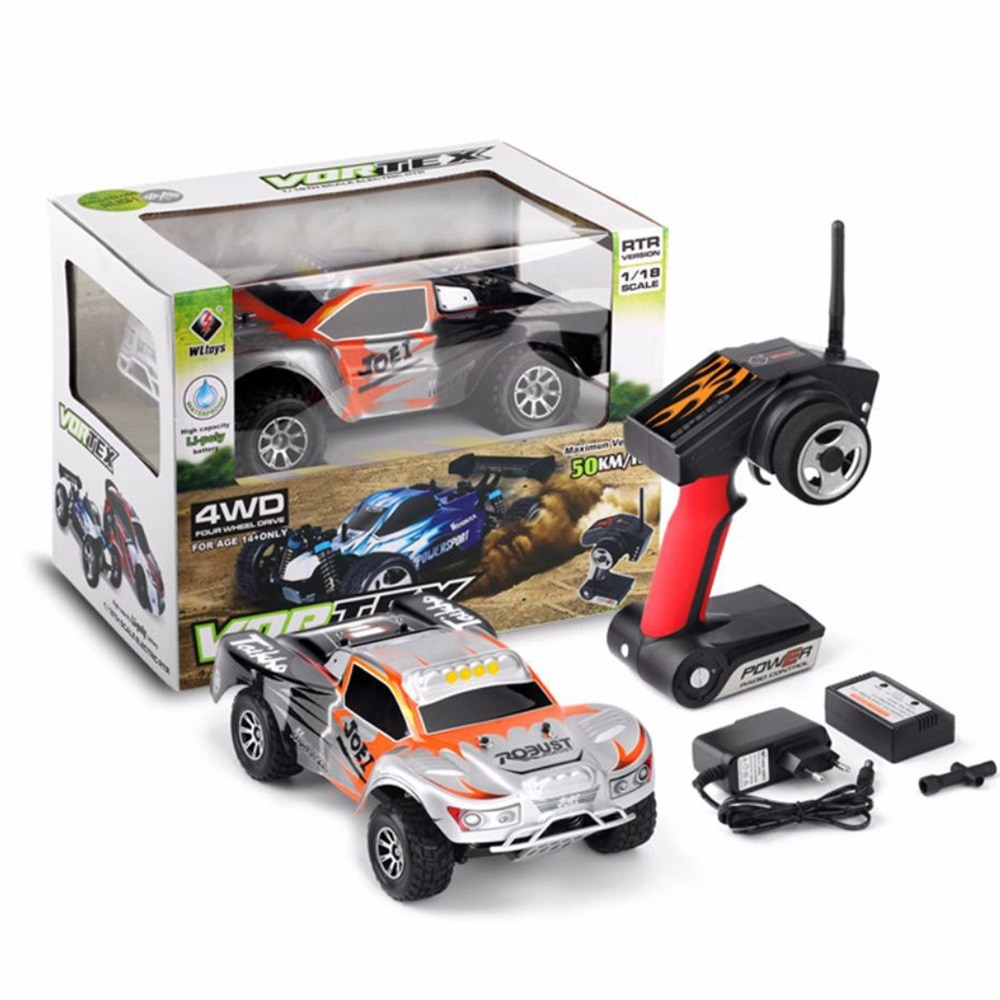 2021 New A969 1:18 RC Car 4WD 2.4G Radio Remote Control Car High Speed Off-Road Cars Climbing Drift