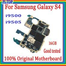 16GB pour Samsung Galaxy S4 i9505 i9500 carte mère avec système Android, Original débloqué pour Samsung S4 i9500 i9505 carte mère