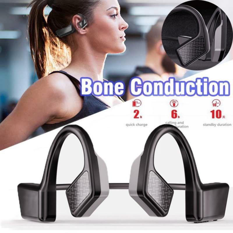 K08-auriculares, inalámbricos por Bluetooth 5,0, auriculares manos libres deportivos para conducción de aire libre