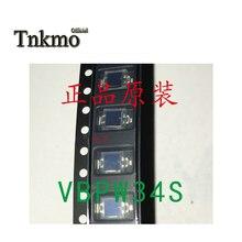 50 Uds 100 Uds 200 Uds 500 Uds VBPW34S silicio SMD fotodiodo PIN longitud de onda 940nm 430-1100nm SMD medio ángulo ± 65 ° nuevo y original