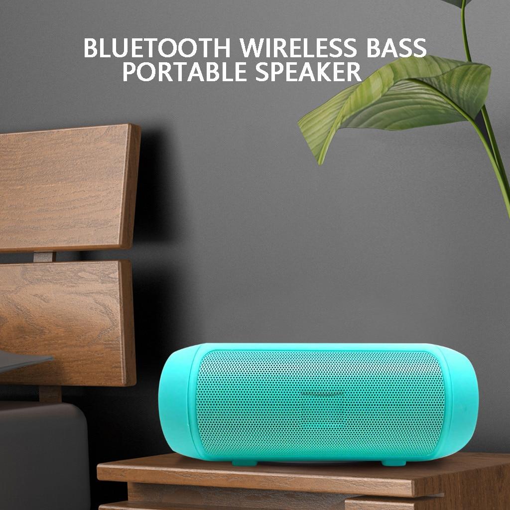 Waterproof Bluetooth Speaker Phone Holder TWS Series FM Card Subwoofer Wireless Outdoor Portable Bluetooth Small Speaker