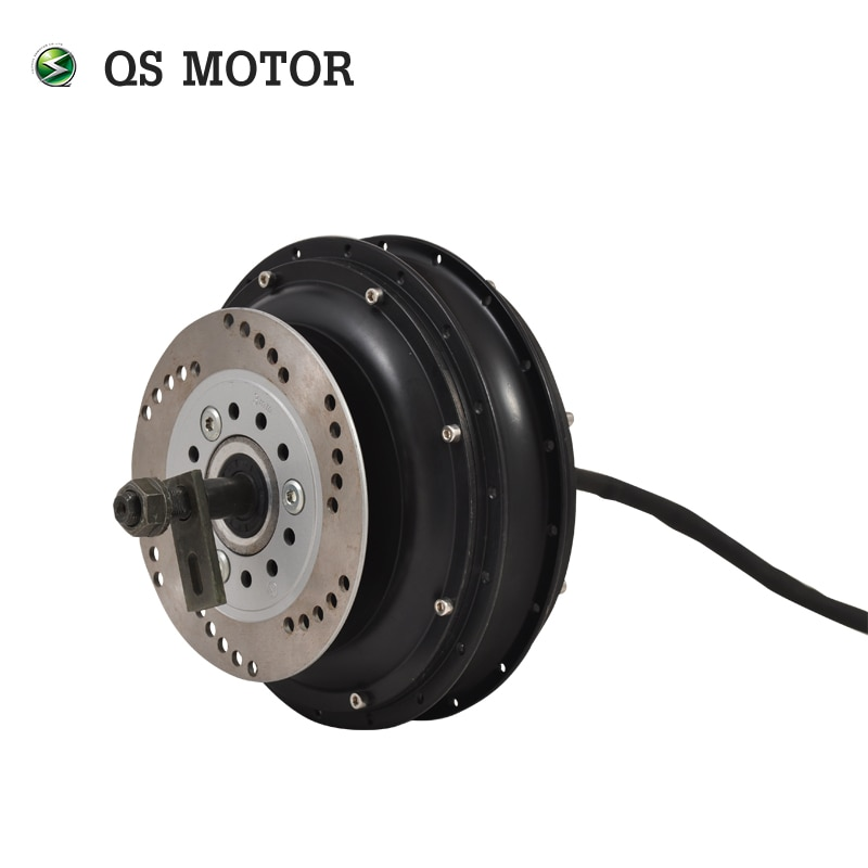 QS Motor 3000W 205 50H V3 72v 80kph dropout 200mm electric scooter spoke hub motor e-bike high power BLDC in wheel motor enlarge