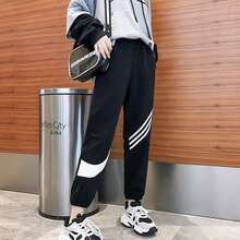 Casual Sports Pants Women's Spring and Autumn Loose Korean Style