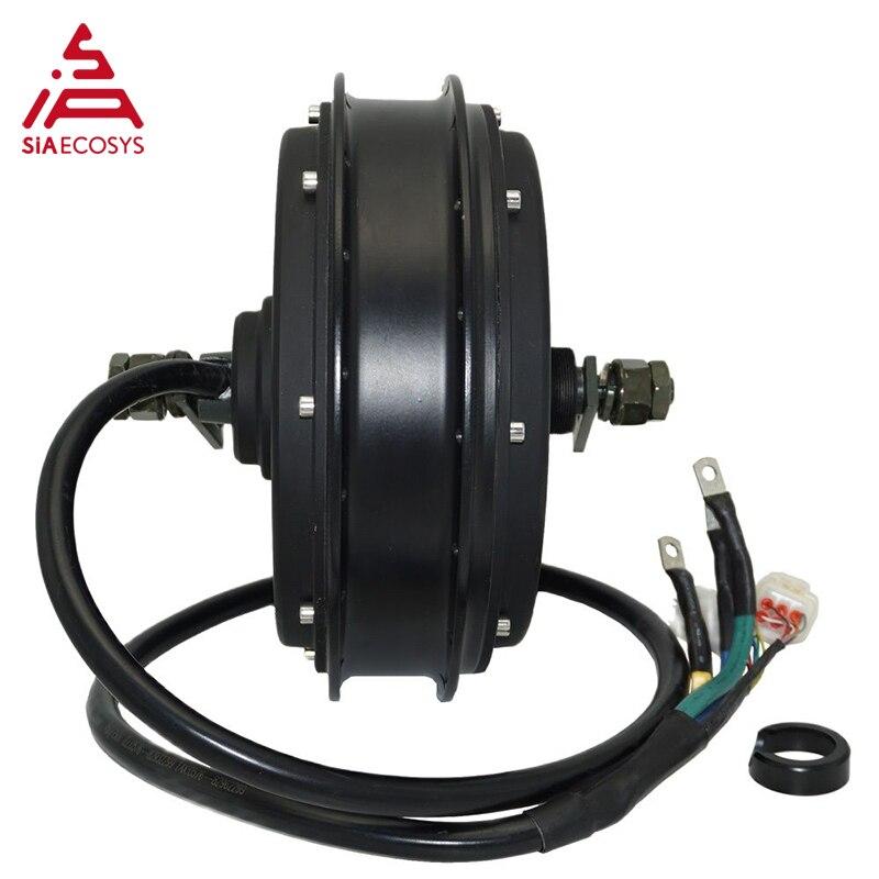 QS Motor E-bike electric motorcycle Spoke motor 3000W 205 (50H) V3 48/60/72V 75-100KPH in wheel Hub Motor kits with SVMC72150 enlarge