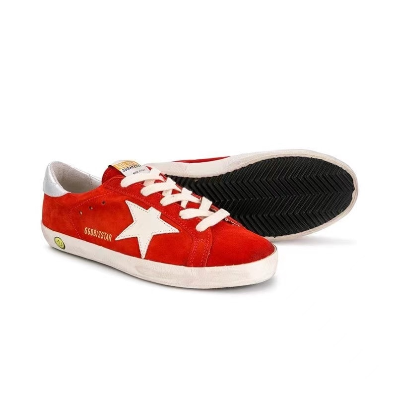 2021 Spring and Autumn New Products Ox Velvet Children's Old Retro Dirty Shoes for Boys  Girls Casual Non-slip Kids Shoes CS193 enlarge