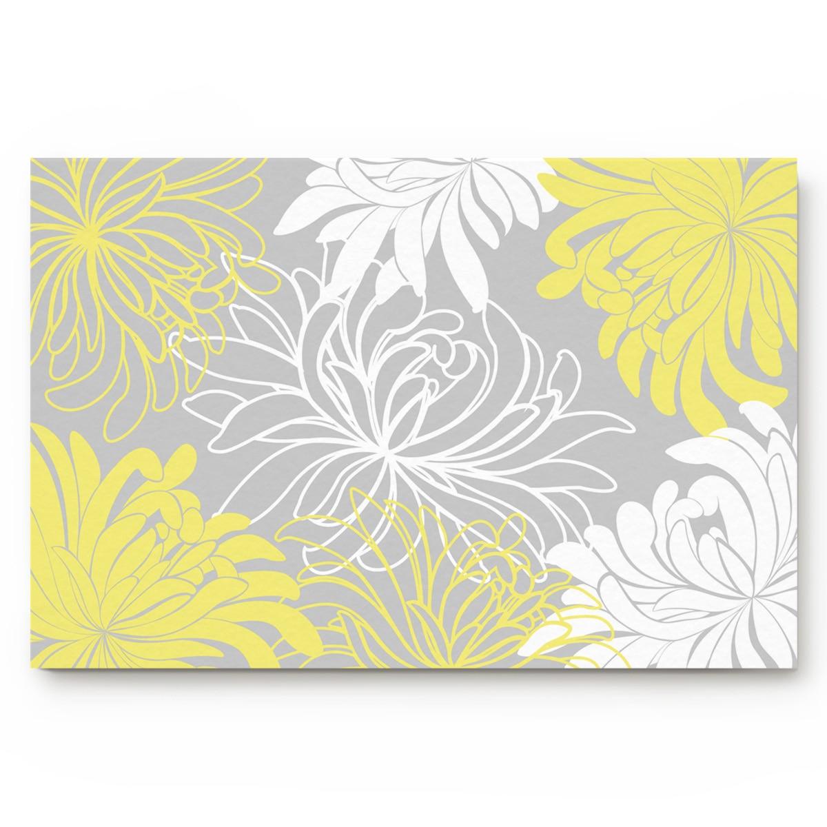 Dalia alfombras de baño amarillas y blancas antideslizantes felpudo puerta felpudo accesorios de baño