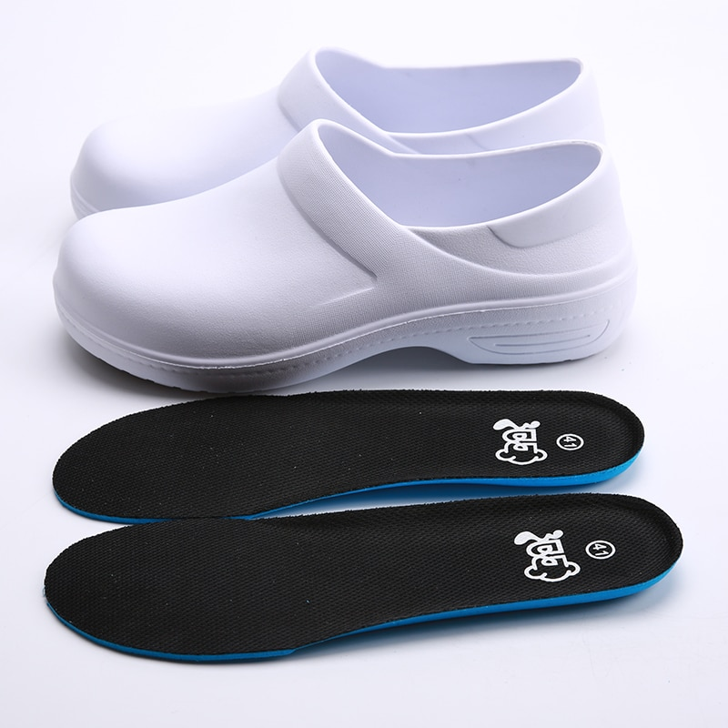 Медицинская обувь для шеф-повара, нескользящая износостойкая кухонная обувь для ресторана, столовой, кафе, пекарни, рабочие туфли для шеф-по...