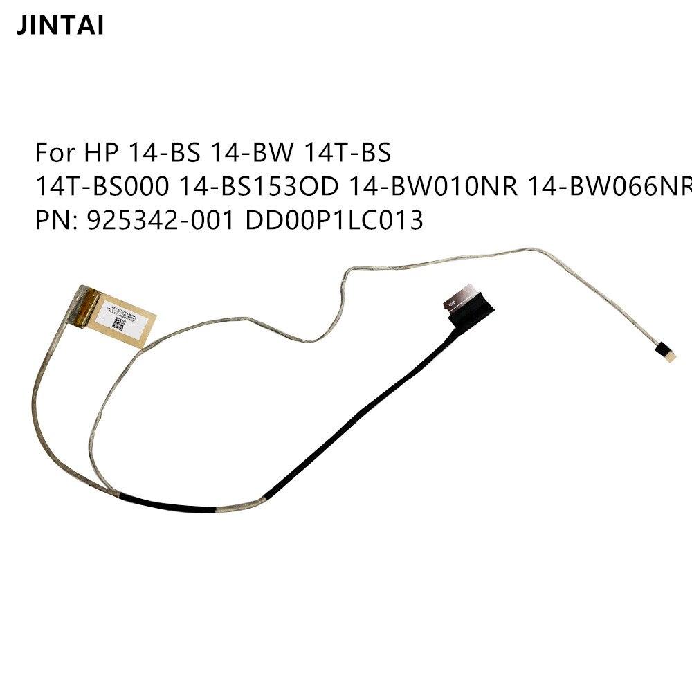 FHD LCD شاشة فيديو كابل ل HP 14-BS 14-BW 14T-BS 14T-BS000 14-BS153OD 14-BW010NR 14-BW066NR 925342-001 DD00P1LC013