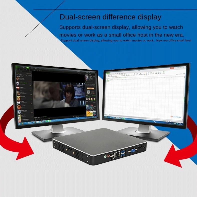mini pc Mini host computer Core i5-8250U HD entertainment cloud terminal mini pc industrial control host