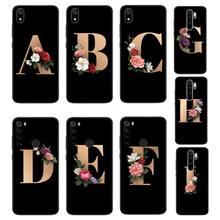 Babaite personnalisé lettre initiale luxe conception Unique couverture de téléphone pour Xiaomi Redmi Note8T 7 9 Pro 5A Redmi4X 5A 6A 6 7 8 5Plus