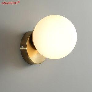 Скандинавский стеклянный шар, потолочная лампа, современный домашний гардероб, дверной вход, светильник, фоновая стена, прикроватная насте...